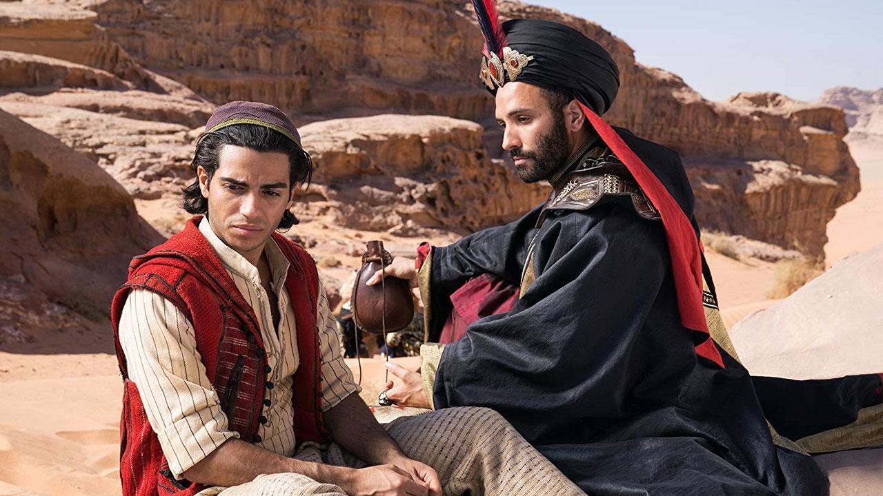 In foto Mena Massoud Dall'articolo: Aladdin: il cinema ultra-pop di Guy Ritchie al servizio della Disney.