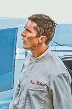 In foto Christian Bale (47 anni) Dall'articolo: Le Mans '66 - La Grande Sfida, il primo trailer italiano del film [HD].