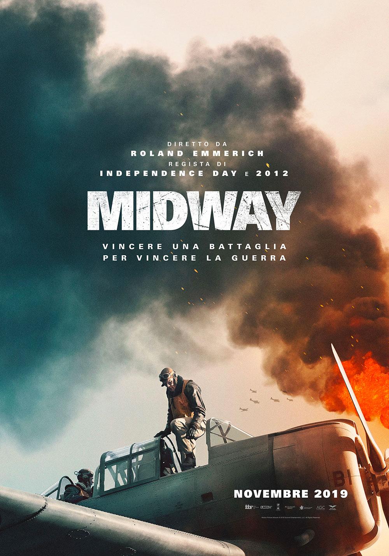 -  Dall'articolo: Midway, il primo poster italiano del film.