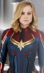 In foto Brie Larson (31 anni) Dall'articolo: Captain Marvel, su IBS il DVD del primo film in solitaria di un'eroina.