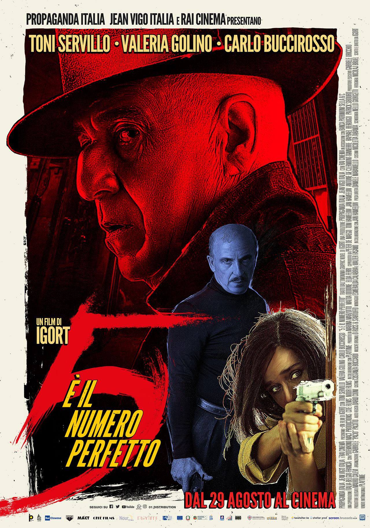 -  Dall'articolo: 5 è il numero perfetto, il poster ufficiale del film.