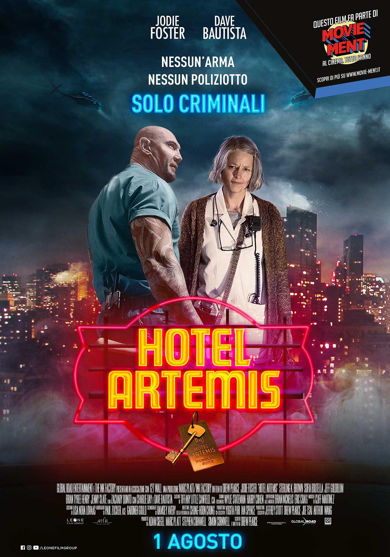 Hotel Artemis, il poster italiano del film - MYmovies.it