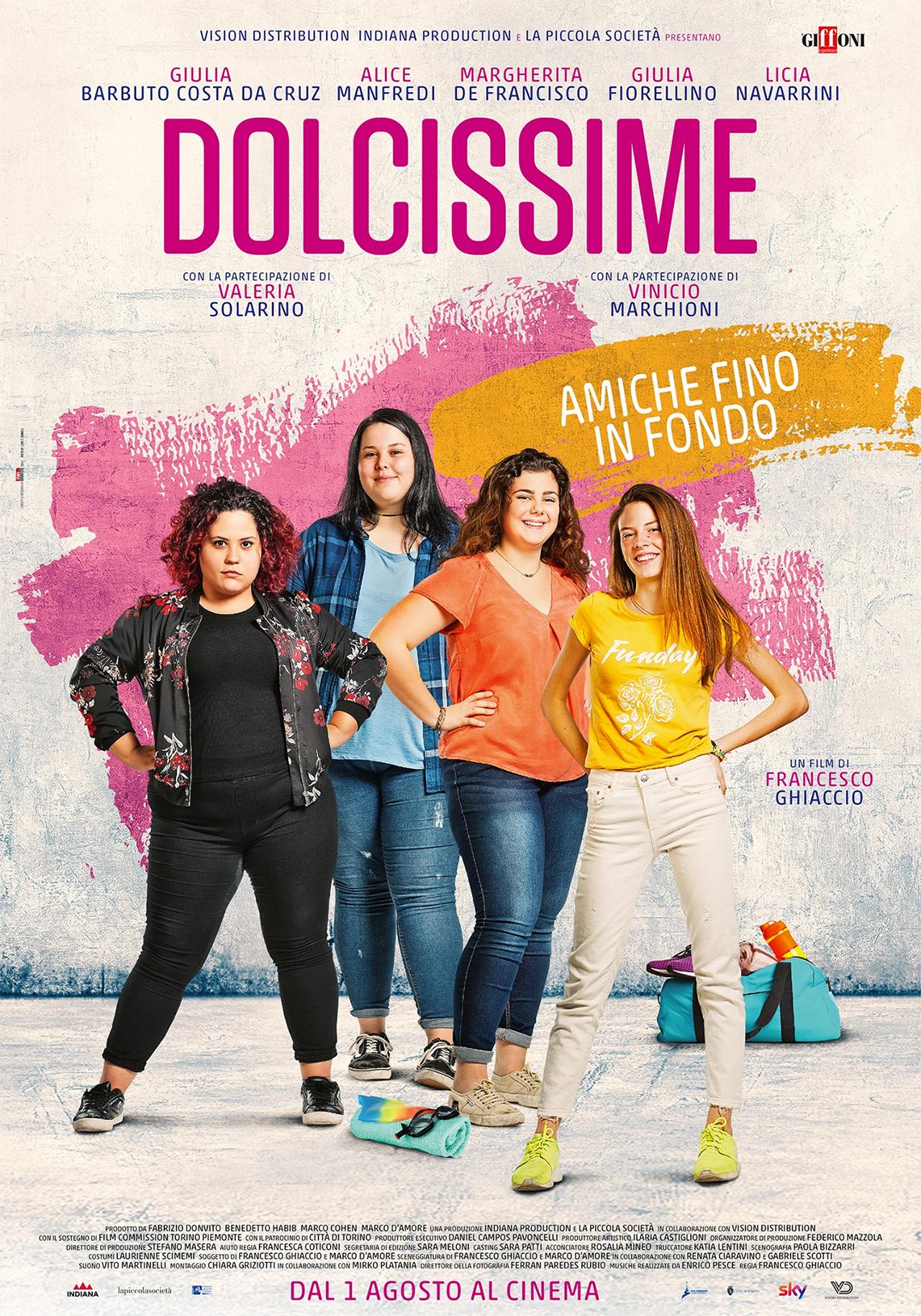 -  Dall'articolo: Dolcissime, il poster ufficiale del film.