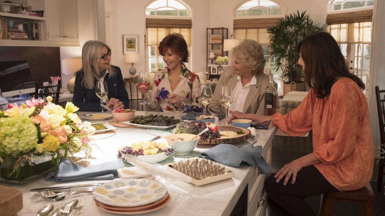 In foto Jane Fonda (83 anni) Dall'articolo: Book Club, su IBS il DVD di una commedia che ribalta gli stereotipi sulla terza età.