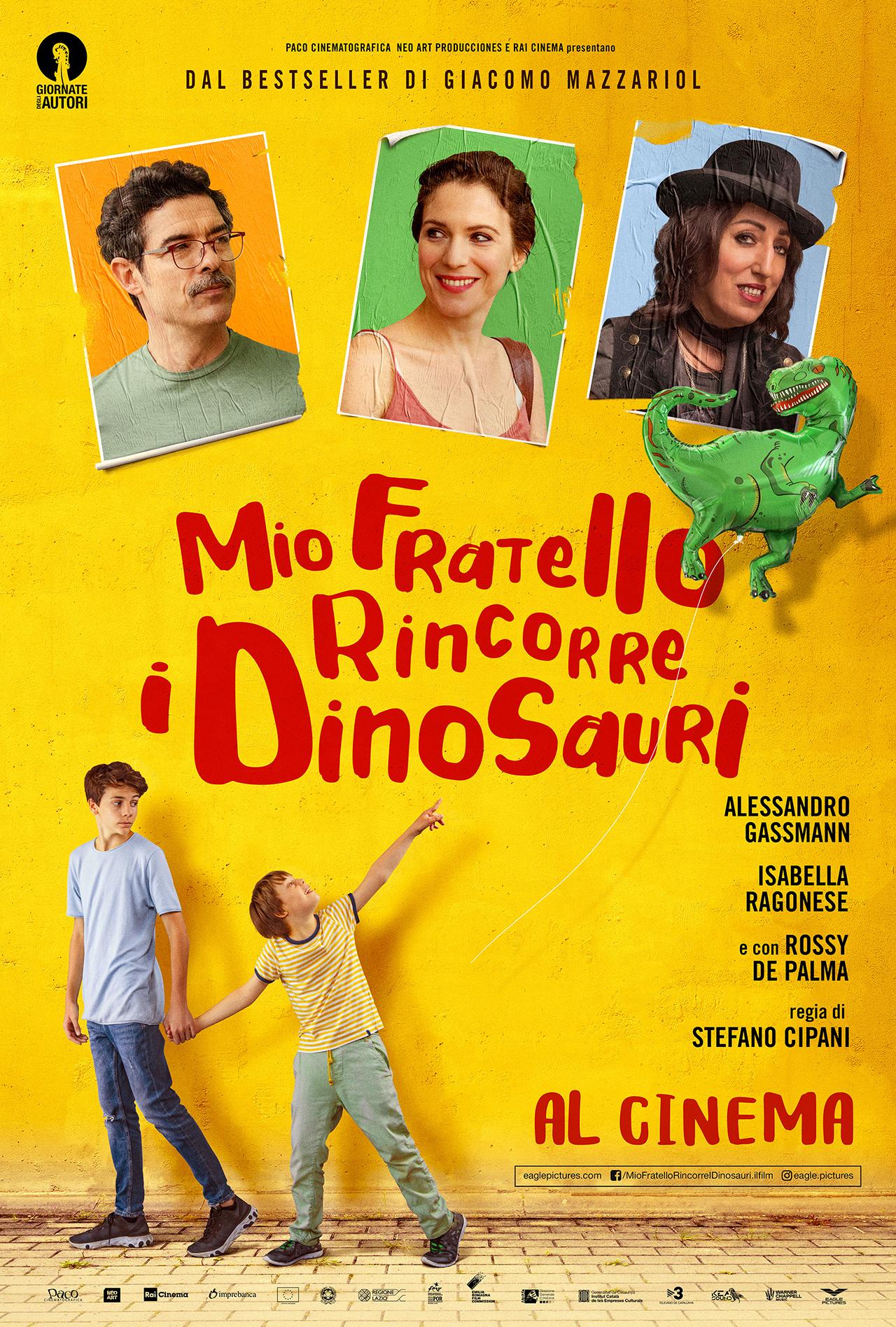 -  Dall'articolo: Mio fratello rincorre i dinosauri, il poster ufficiale del film.