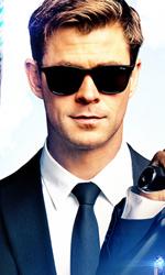 In foto Chris Hemsworth (37 anni) Dall'articolo: Men in Black International fa suo il box office. Battuto Spider-Man.