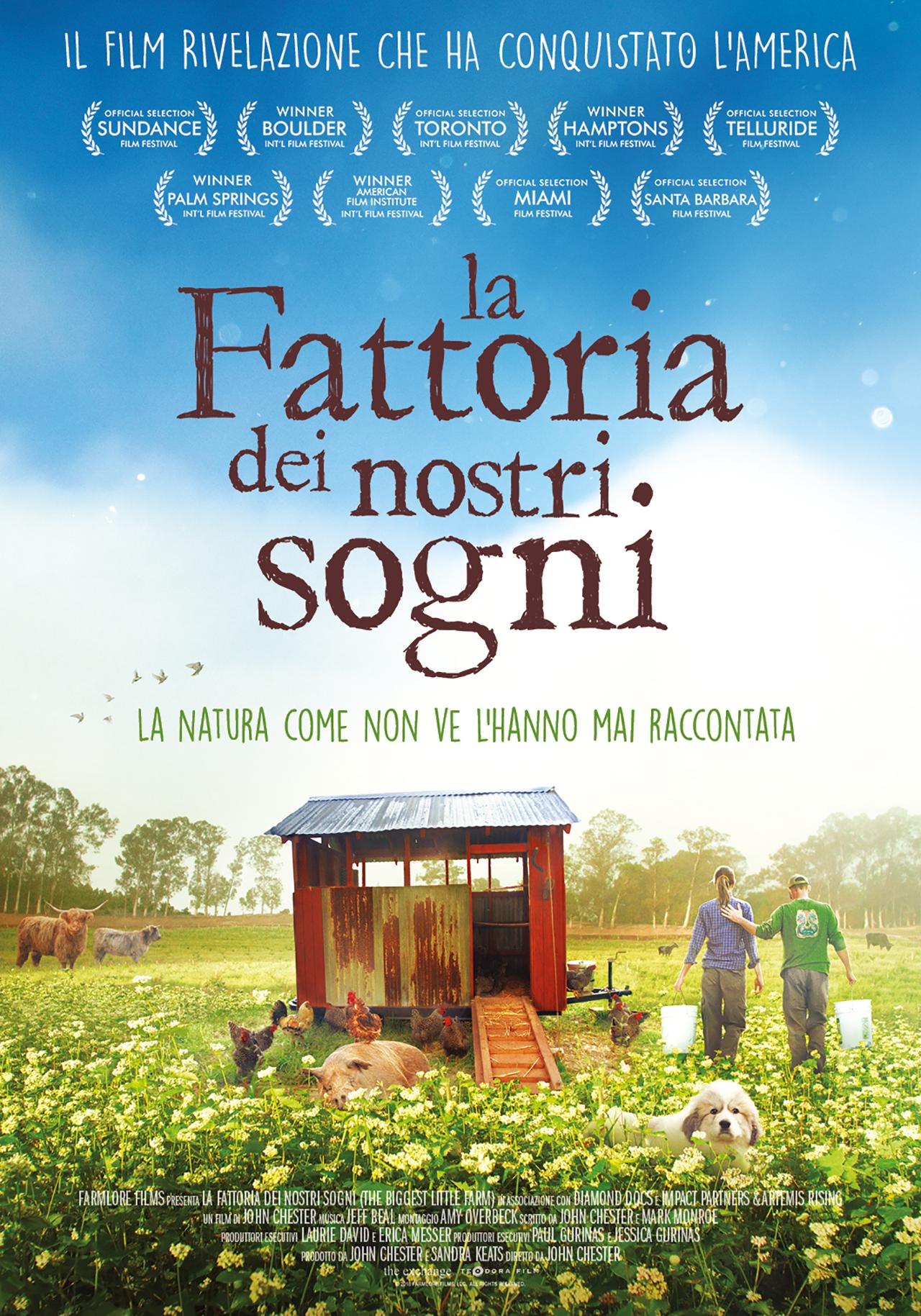 -  Dall'articolo: La fattoria dei nostri sogni, il poster italiano.