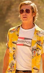 In foto Brad Pitt (56 anni) Dall'articolo: C'era una volta... a Hollywood supera i 100 milioni di $ negli USA.