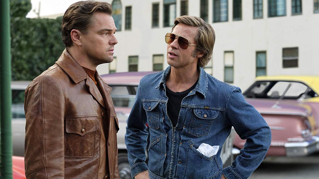 In foto Leonardo DiCaprio (46 anni) Dall'articolo: Esordio boom in Francia per C'era una volta… a Hollywood.