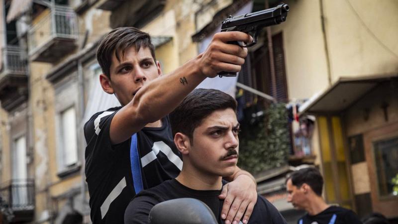 In foto Francesco Di Napoli Dall'articolo: La paranza dei bambini, l'innocenza non è una condizione ammissibile.
