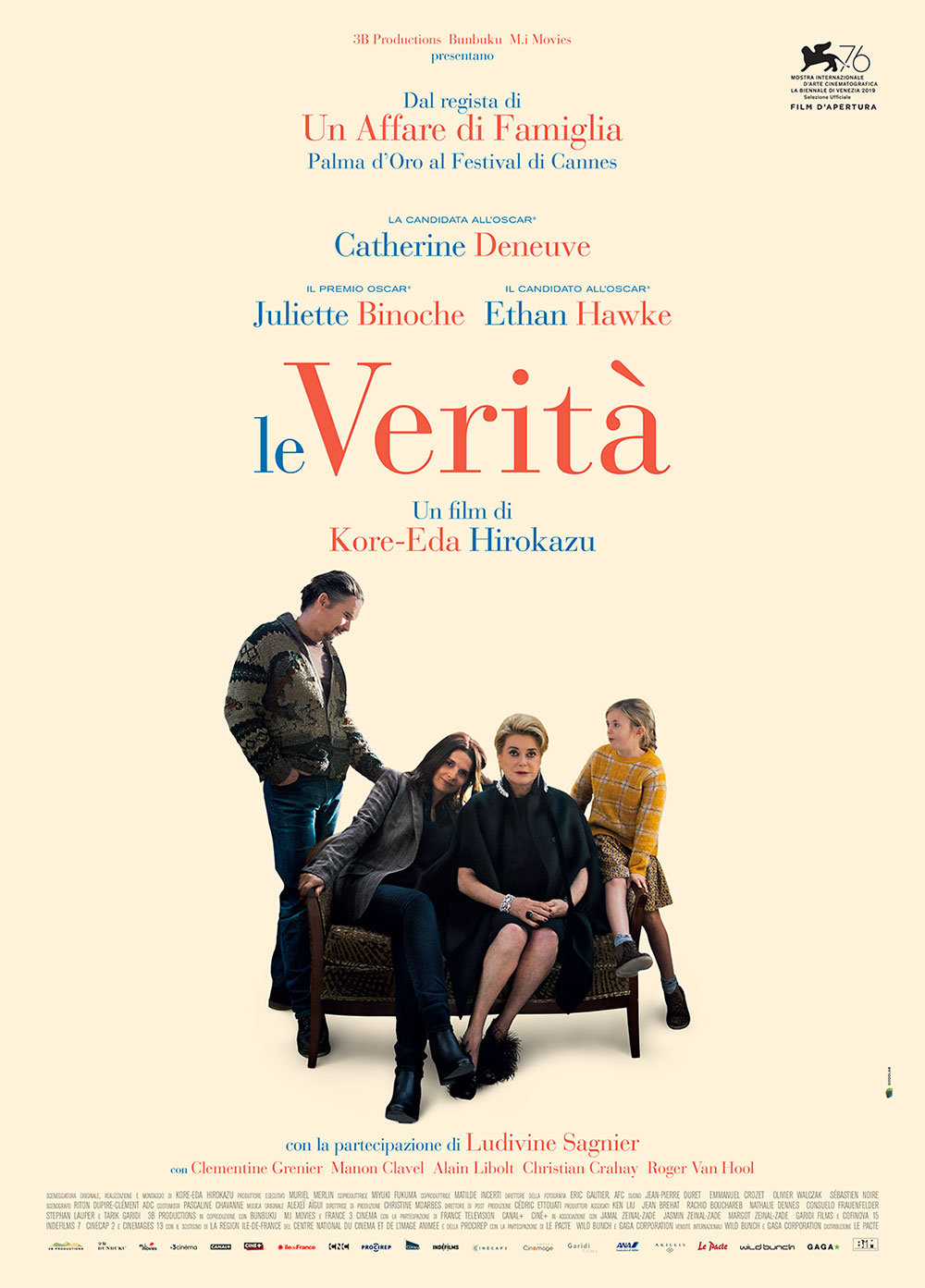 -  Dall'articolo: Le Verità, il poster italiano del film.
