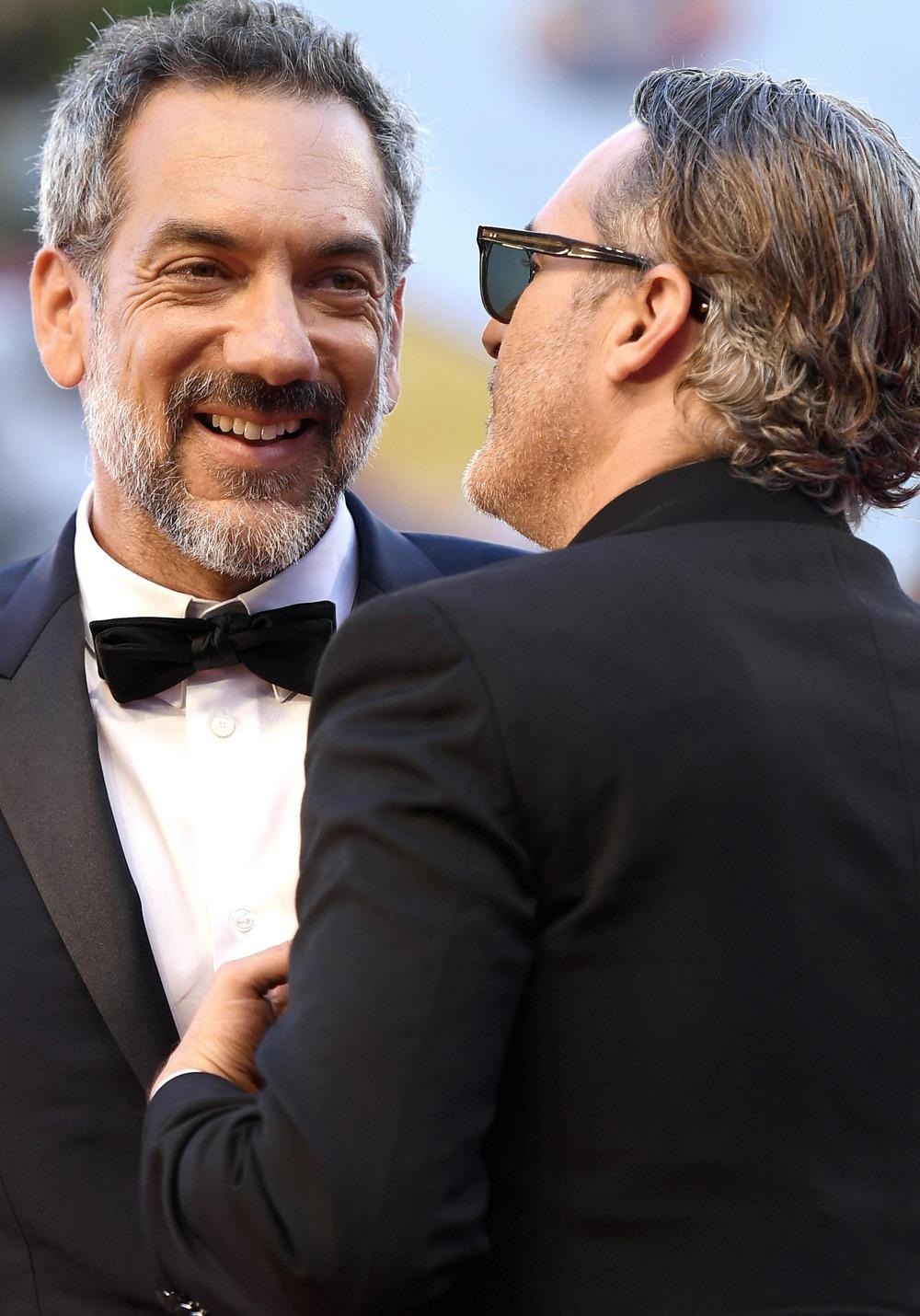 Venezia 76, tutti in piedi per il Joker di Joaquin Phoenix - In fotoTodd Phillips e Joaquin Phoenix per il film <em>Joker</em>.