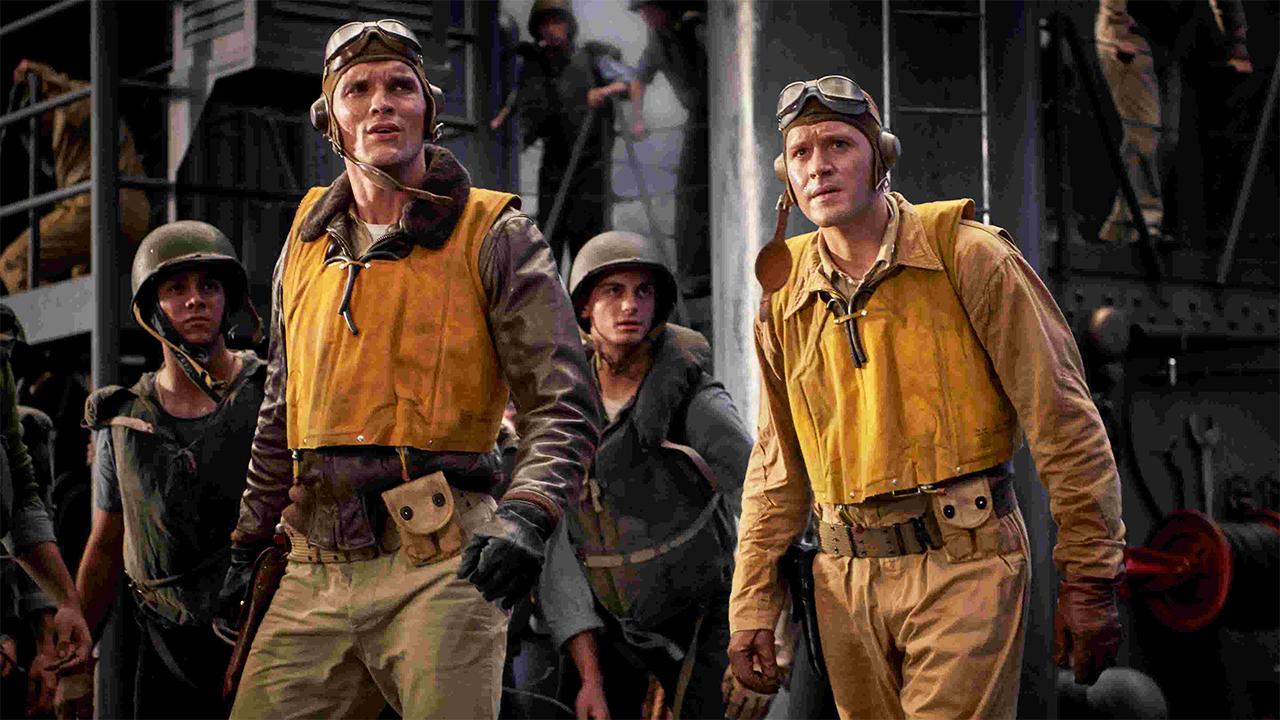 -  Dall'articolo: Midway, il war movie di Emmerich sulla storica battaglia della Seconda Guerra Mondiale.
