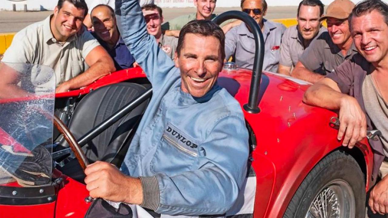 In foto Christian Bale (47 anni) Dall'articolo: Le Mans '66 - La Grande Sfida, il trailer italiano ufficiale del film [HD].