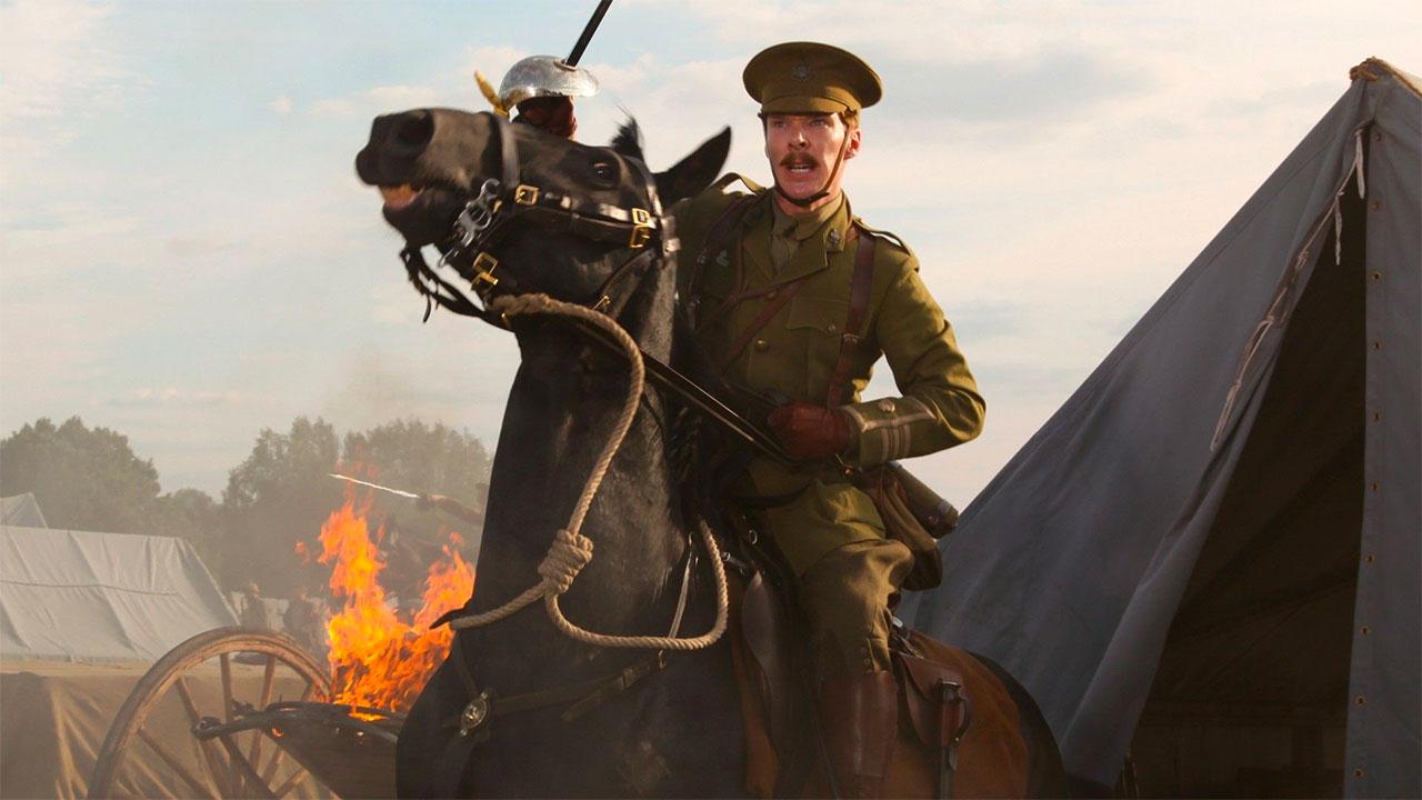 In foto Benedict Cumberbatch (44 anni) Dall'articolo: 1917, da giovedì 23 gennaio al cinema.