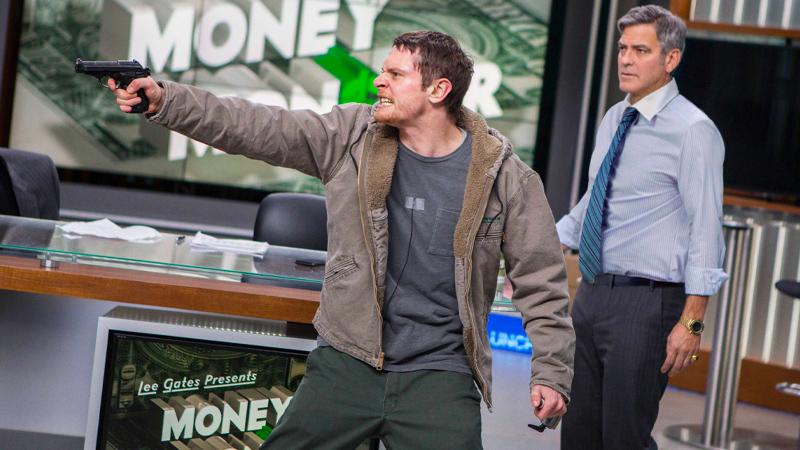 In foto una scena del film Money Monster. -  Dall'articolo: Money Monster, dietro l'e-trading c'è sempre la cupidigia dell'uomo.