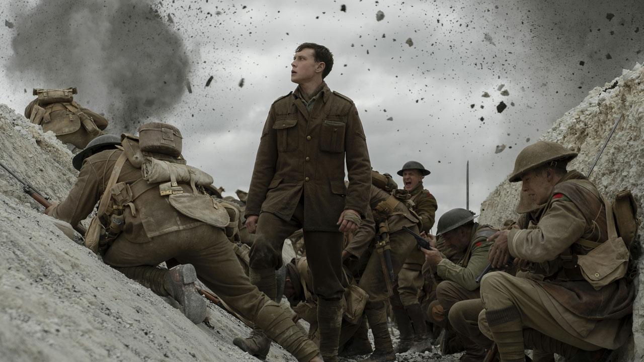 -  Dall'articolo: 1917, Sam Mendes racconta il dramma e l'eroismo della guerra di trincea.