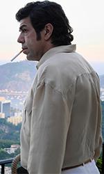 In foto Pierfrancesco Favino (51 anni) Dall'articolo: Il Traditore è il film candidato dall'Italia agli Oscar 2020.