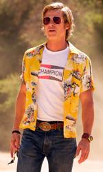 In foto Brad Pitt (56 anni) Dall'articolo: C'era una volta... a Hollywood supera Hobbs & Shaw nella classifica stagionale del box office.