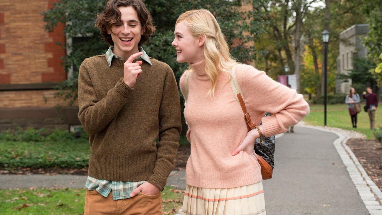 In foto Timothée Chalamet (25 anni) Dall'articolo: Woody Allen parte benissimo in Francia con oltre 1 milione di euro.