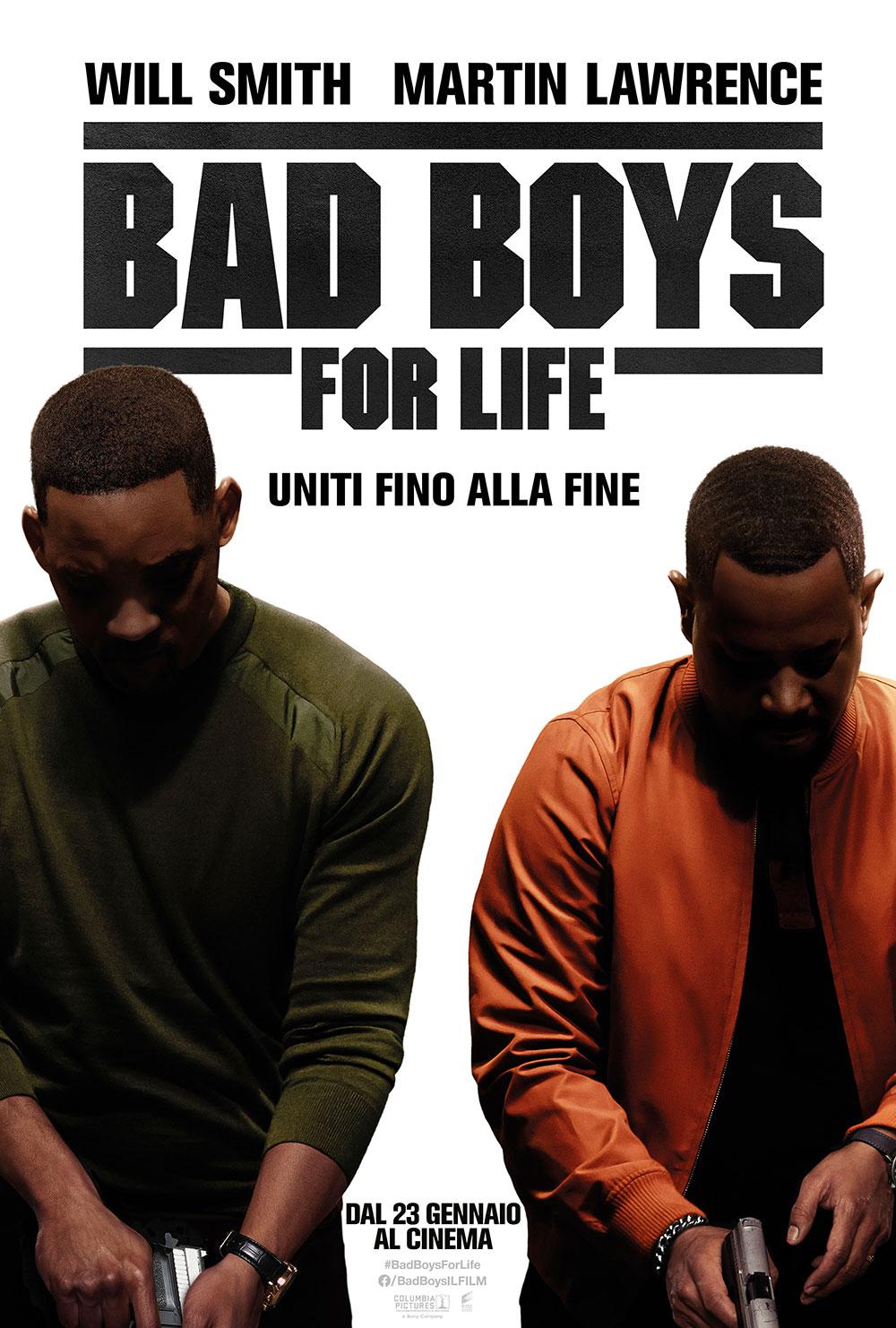 In foto Will Smith (53 anni) Dall'articolo: Bad Boys for Life, il poster italiano del film.