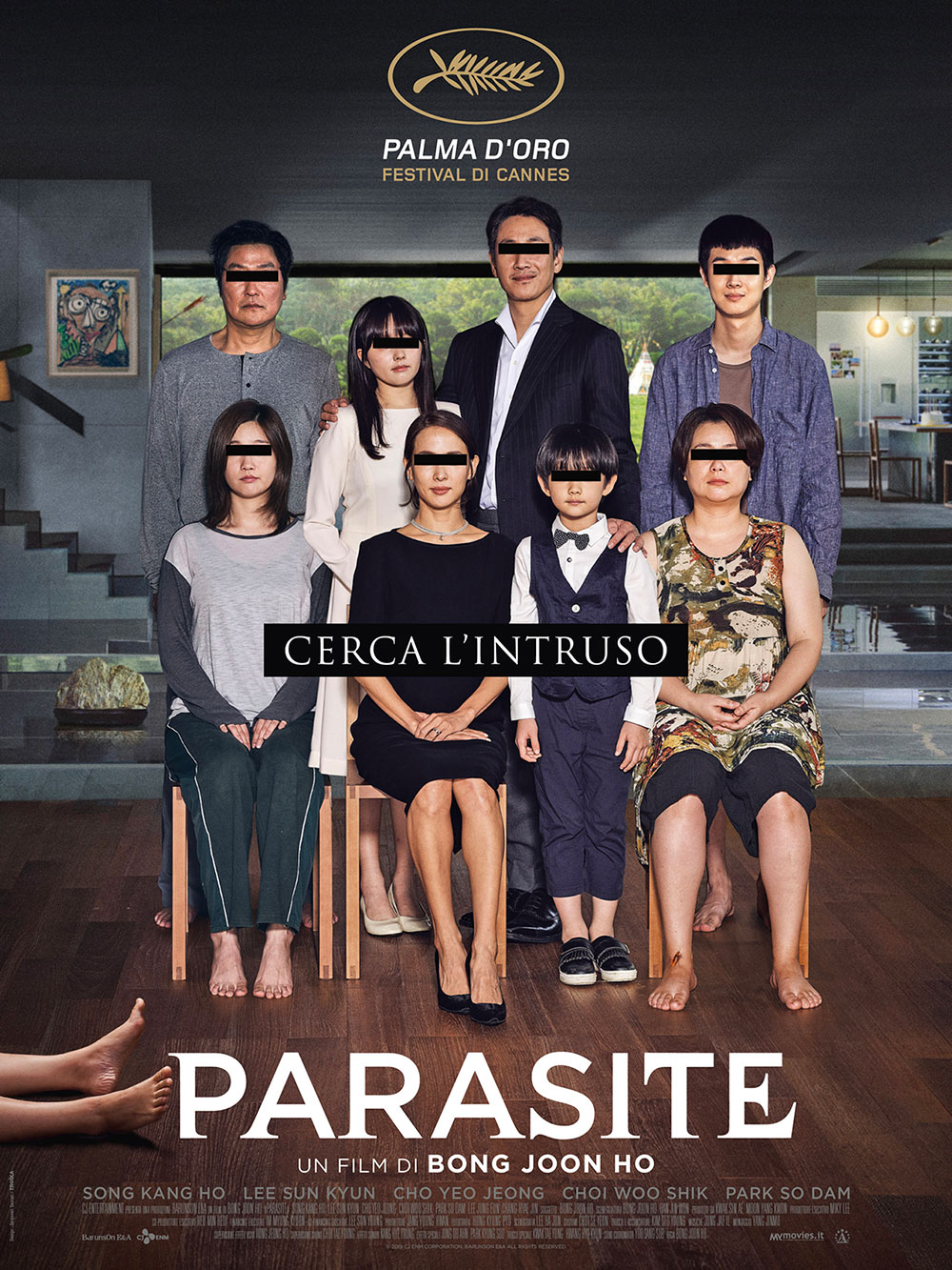 In foto Bong Joon-ho (51 anni) Dall'articolo: Parasite, il poster italiano del film.