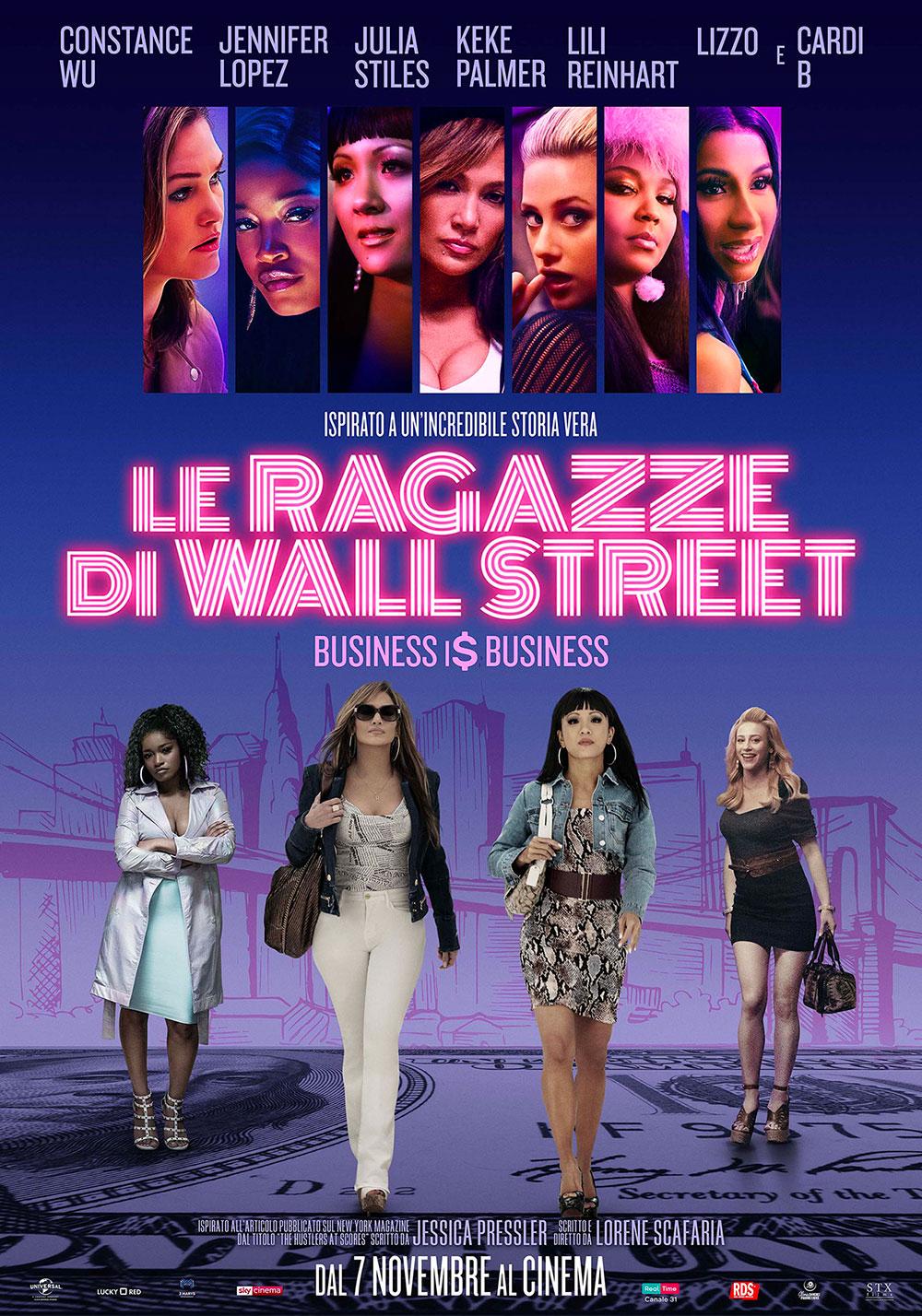 Le Ragazze Di Wall Street Il Poster Italiano Del Film Mymovies It
