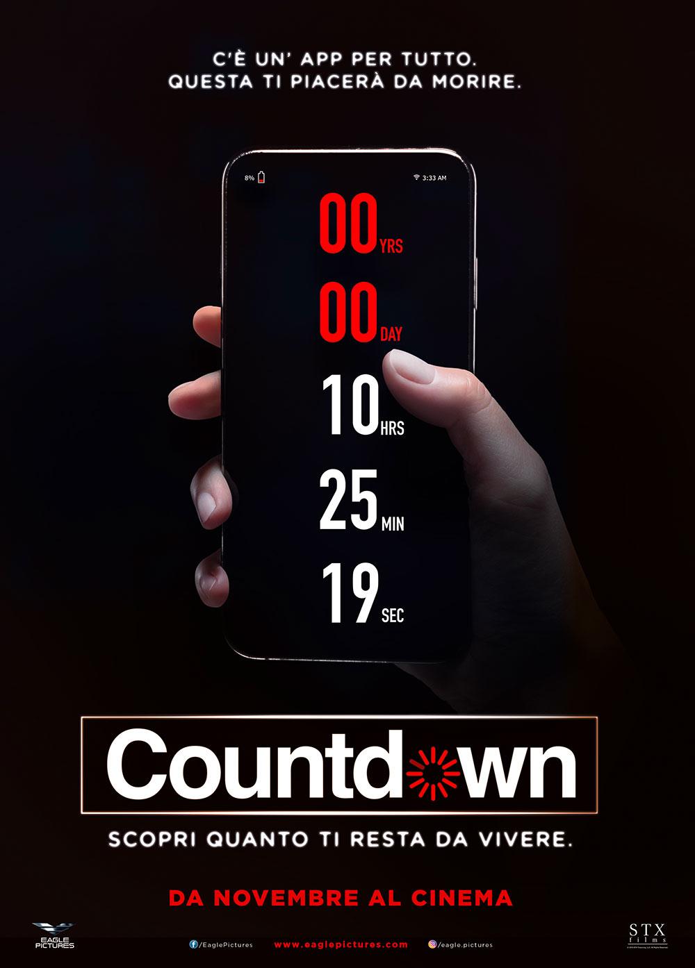 -  Dall'articolo: Countdown, il poster italiano del film.