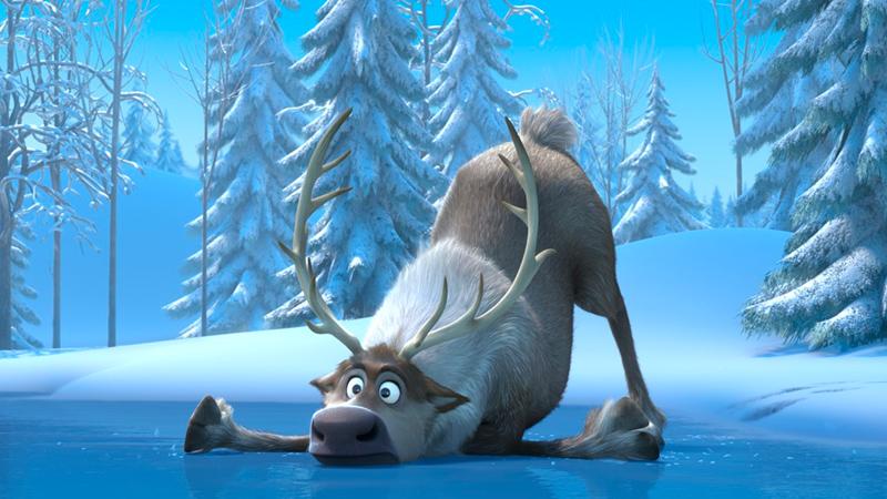 In foto una scena del film Frozen - Il regno di ghiaccio. -  Dall'articolo: Frozen, nell'amore fraterno la chiave di un successo planetario.