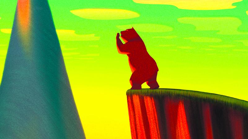 In foto una scena del film La famosa invasione degli orsi in Sicilia. -  Dall'articolo: La famosa invasione degli orsi in Sicilia, guarda l'inizio del film [HD].