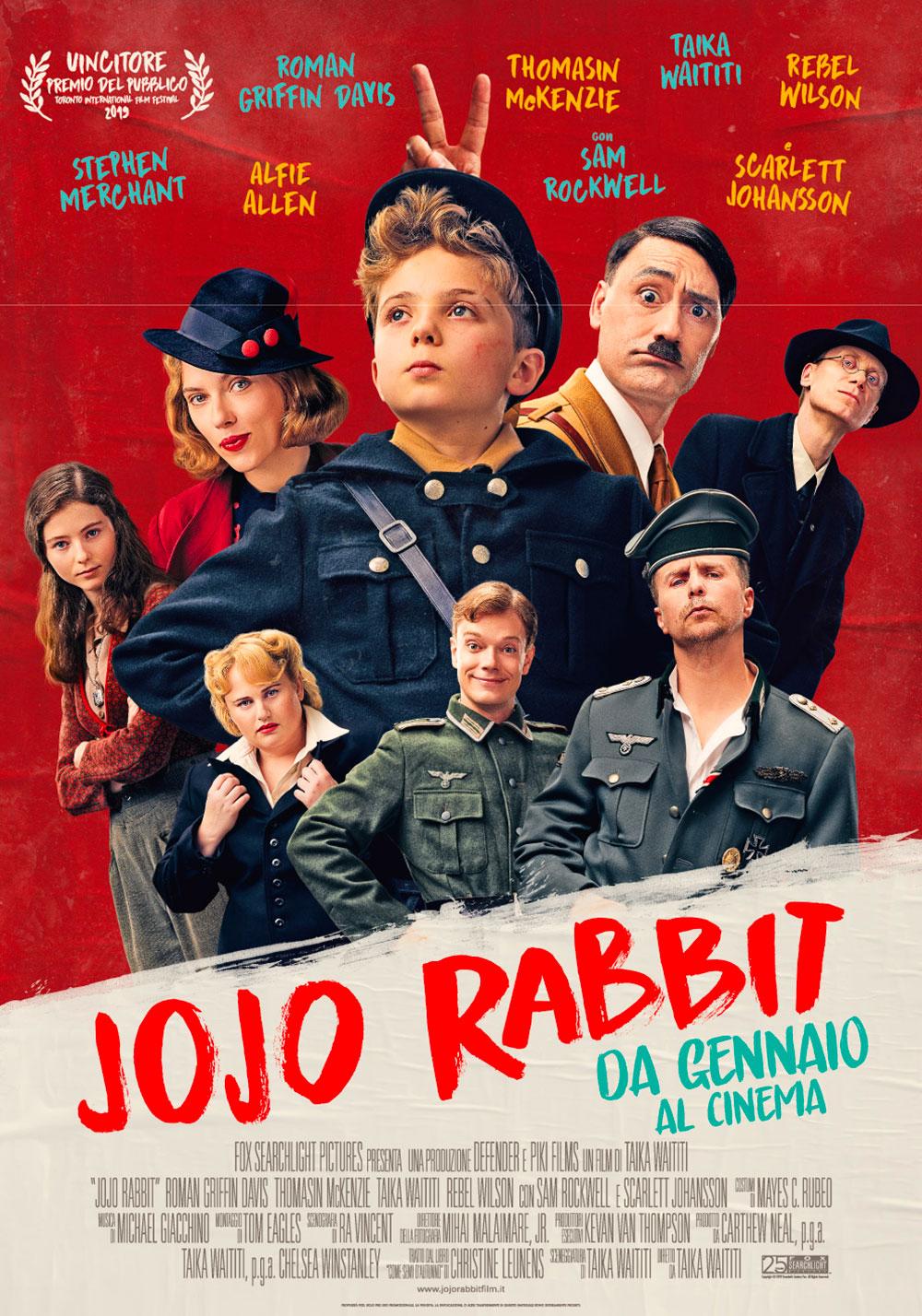 In foto Taika Waititi (46 anni) Dall'articolo: Jojo Rabbit, il poster italiano del film.