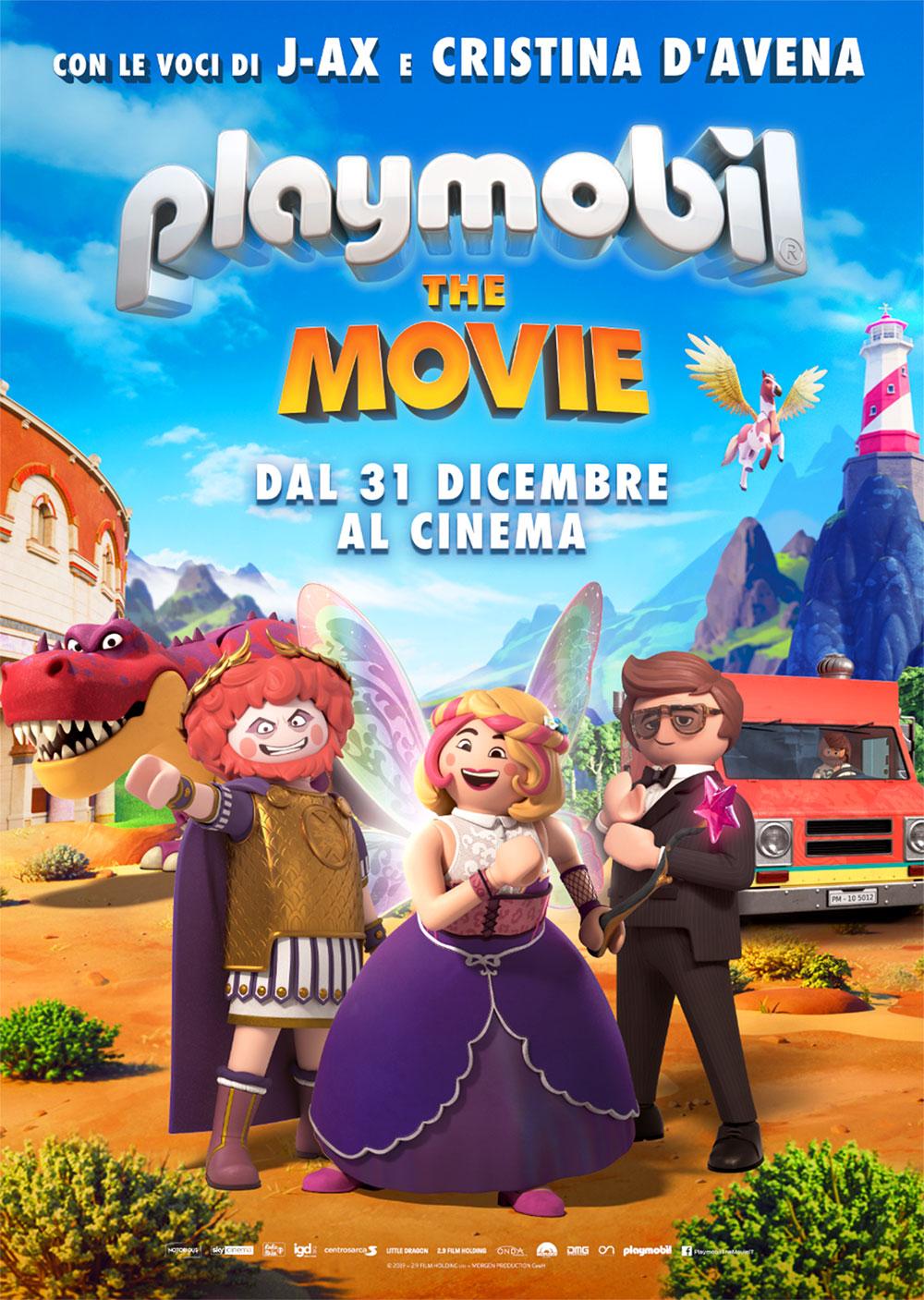 In foto Lino Disalvo Dall'articolo: Playmobil - The Movie, il poster italiano del film.