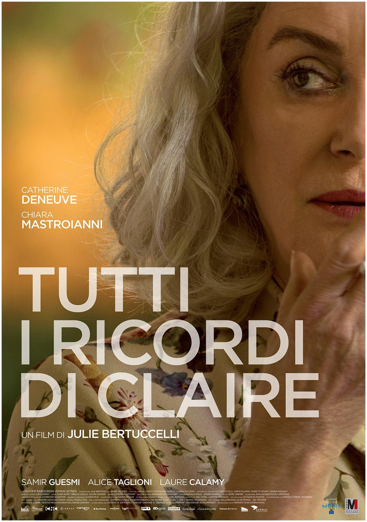 -  Dall'articolo: Tutti i ricordi di Claire, il poster italiano del film.