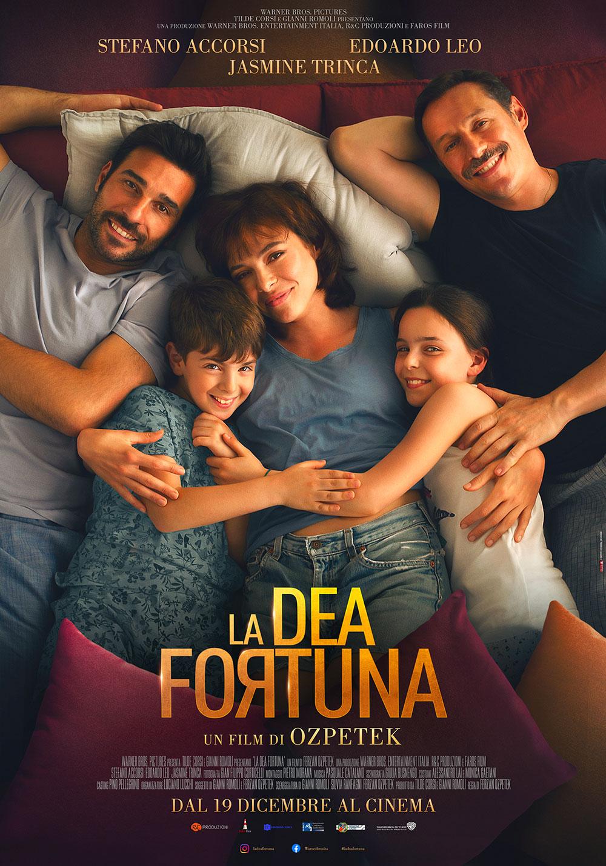 In foto Edoardo Leo (49 anni) Dall'articolo: La Dea Fortuna, il poster ufficiale del film.