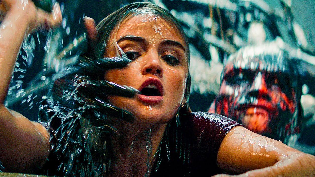 In foto Lucy Hale (31 anni) Dall'articolo: Fantasy Island, il primo trailer italiano del film [HD].