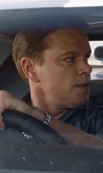 In foto Matt Damon (50 anni) Dall'articolo: Le Mans '66 vince la sfida del lunedì. Parasite raggiunge e supera il milione di euro.