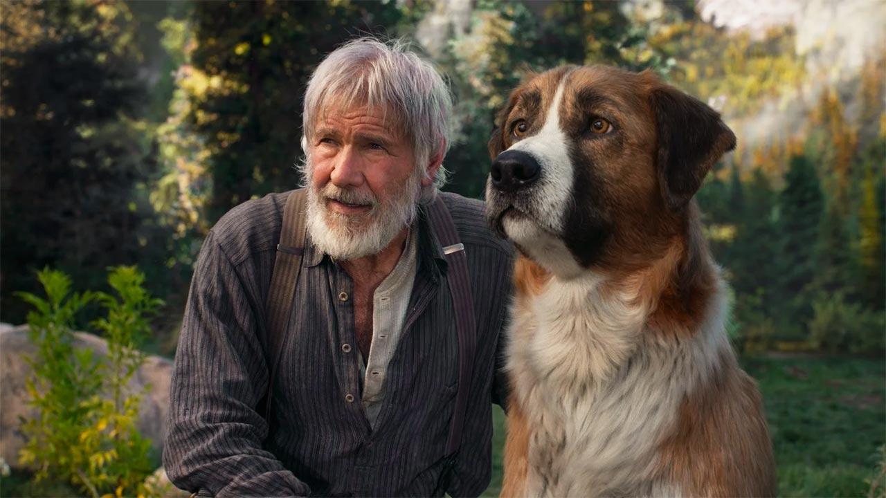 In foto Harrison Ford (79 anni) Dall'articolo: Il richiamo della foresta, torna al cinema il grande classico di Jack London.
