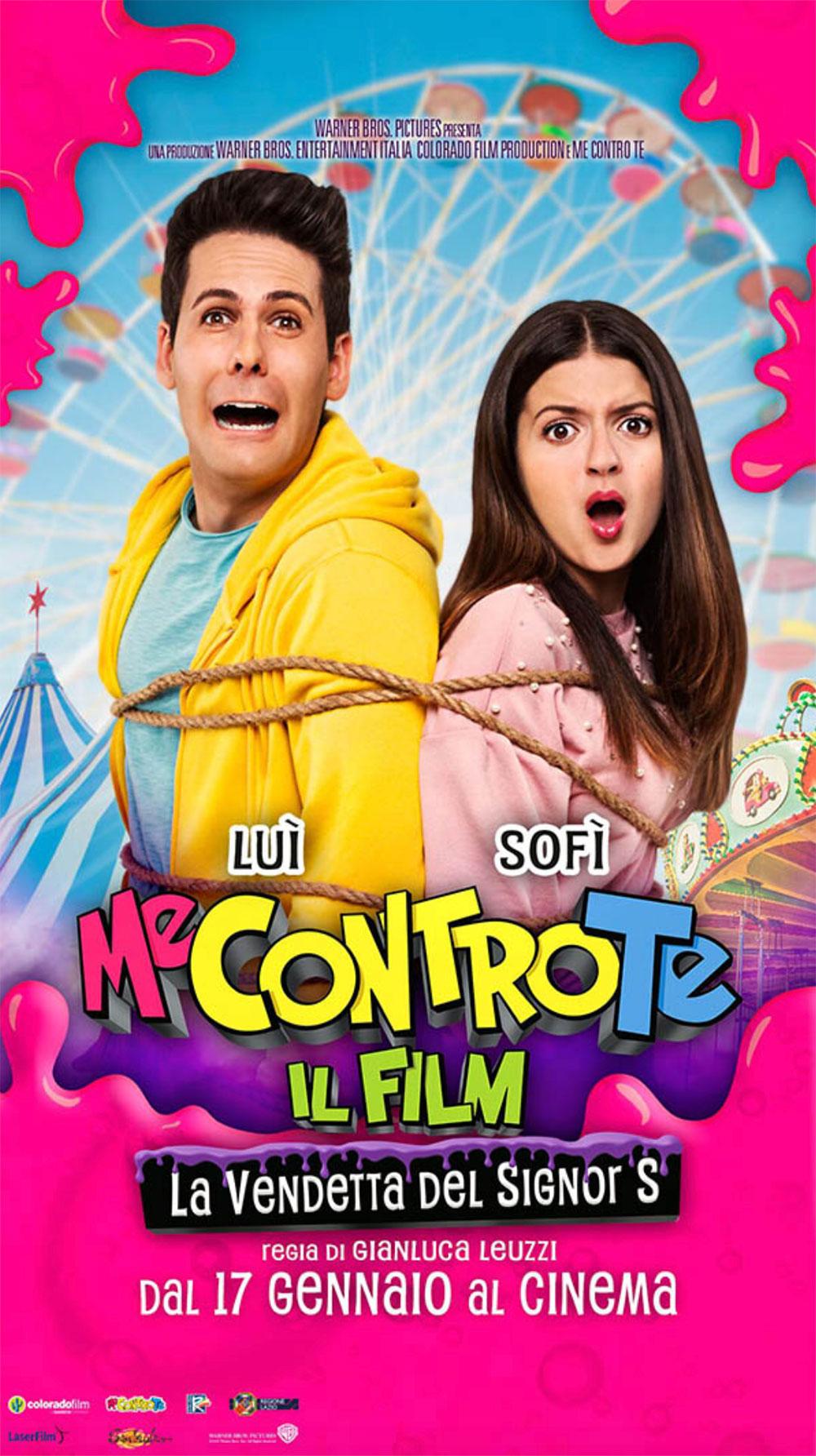 Me Contro Te Il Film La Vendetta Del Signor S Il Poster