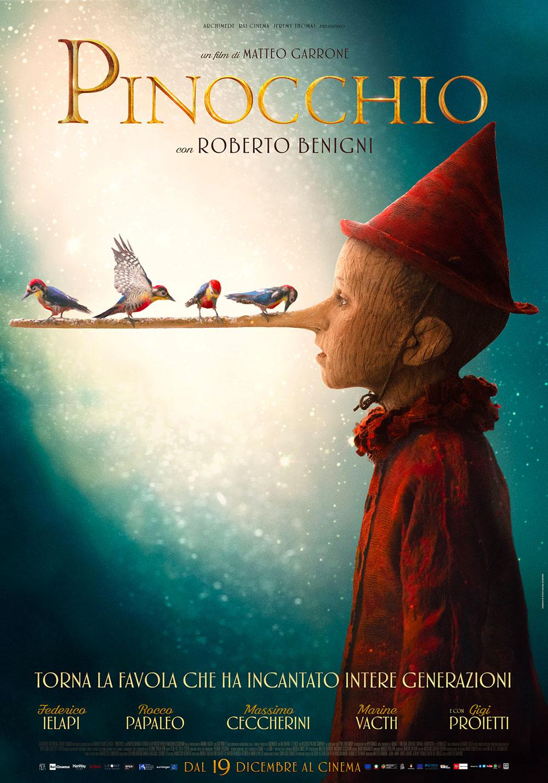 -  Dall'articolo: Pinocchio, il nuovo poster del film.