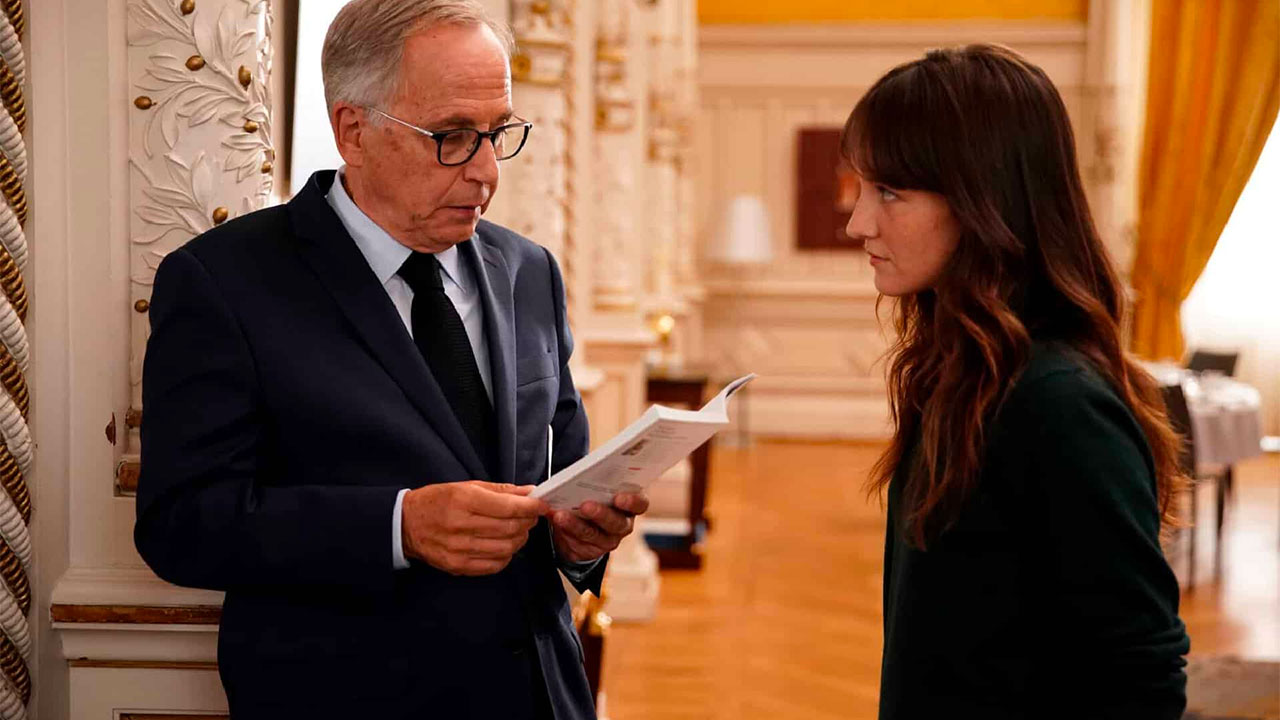 In foto Fabrice Luchini (69 anni) Dall'articolo: Alice e il Sindaco, da giovedì 6 febbraio al cinema.