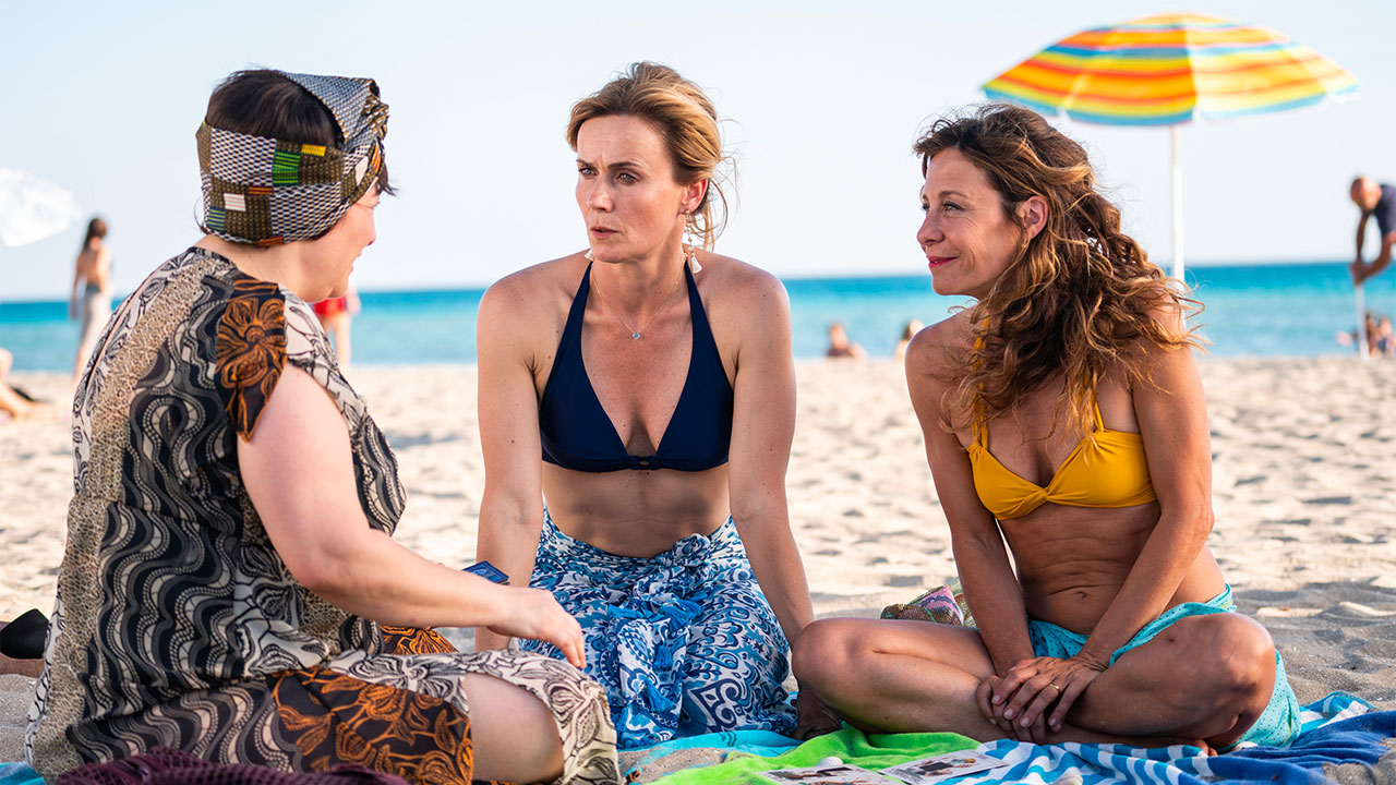 In foto Lucia Mascino (43 anni) Dall'articolo: Odio l'Estate, da giovedì 30 gennaio al cinema.