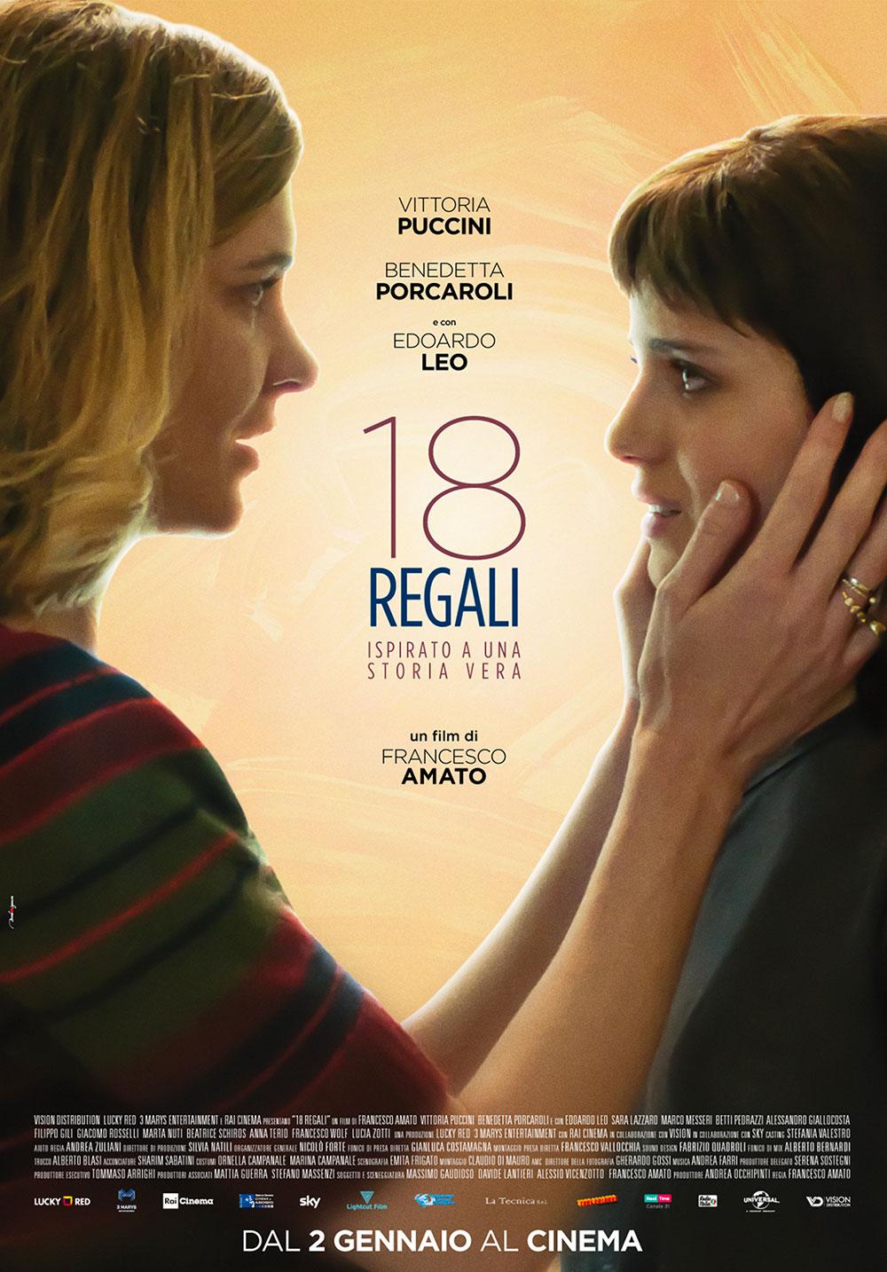 -  Dall'articolo: 18 Regali, il poster ufficiale del film.