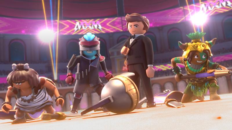 In foto una scena del filmPlaymobil - The Movie. -  Dall'articolo: Film di Natale al cinema. Da Pinocchio a Star Wars, ecco cosa vedere tra Natale e Capodanno.