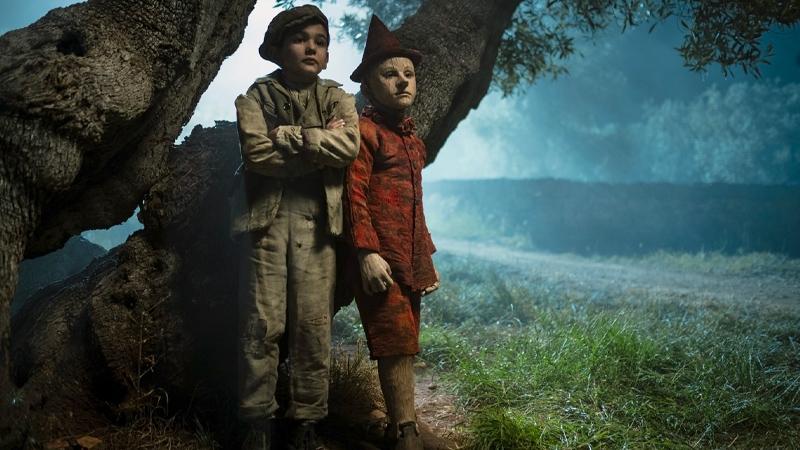 In foto una scena del film Pinocchio. -  Dall'articolo: Cinema, tv e streaming: come programmare le feste di Natale e fare il pieno di film e serie tv.