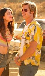 In foto Brad Pitt (57 anni) Dall'articolo: C'era una volta... a Hollywood, su IBS il DVD del nono film di Quentin Tarantino.
