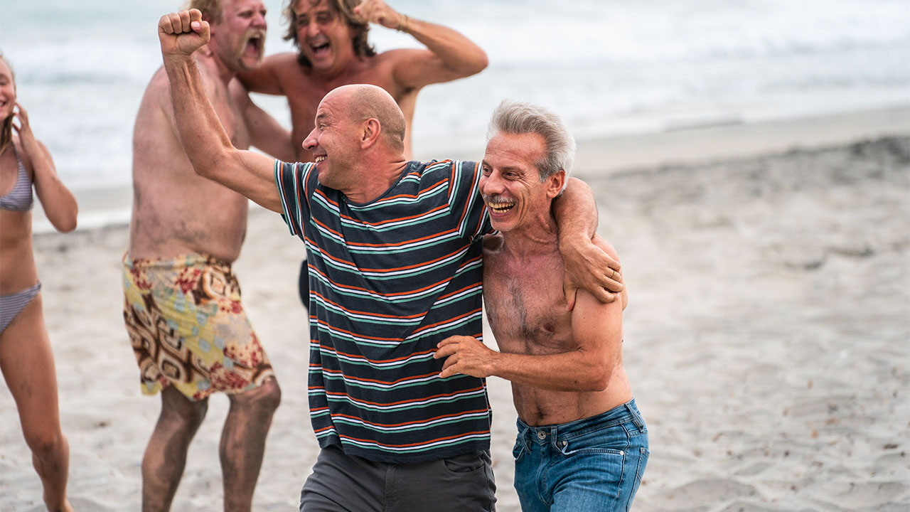 In foto Giovanni Storti (64 anni) Dall'articolo: Odio l'estate si prende subito la vetta del box office.