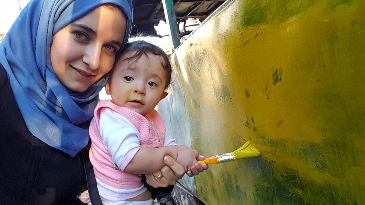 In foto Waad Al-Khateab Dall'articolo: Alla mia piccola Sama, guarda l'inizio del film candidato all'Oscar [HD].