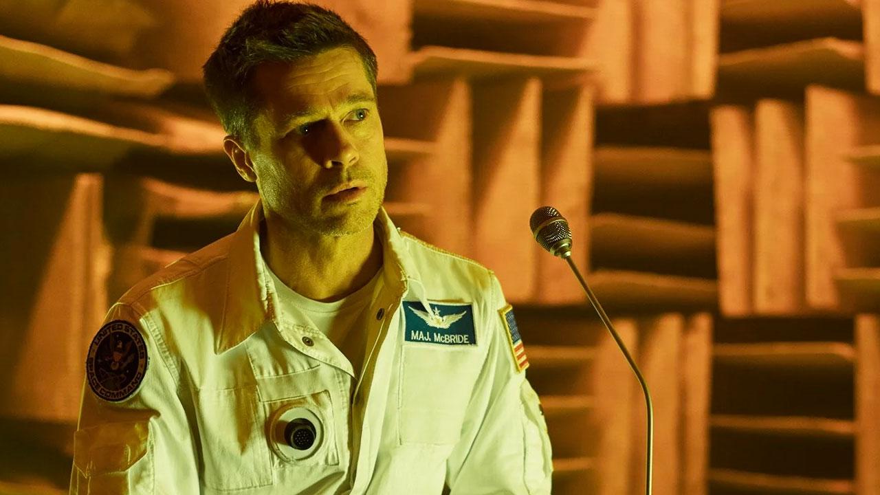 In foto Brad Pitt (58 anni) Dall'articolo: Ad Astra, su IBS il DVD del viaggio spaziale di Brad Pitt.