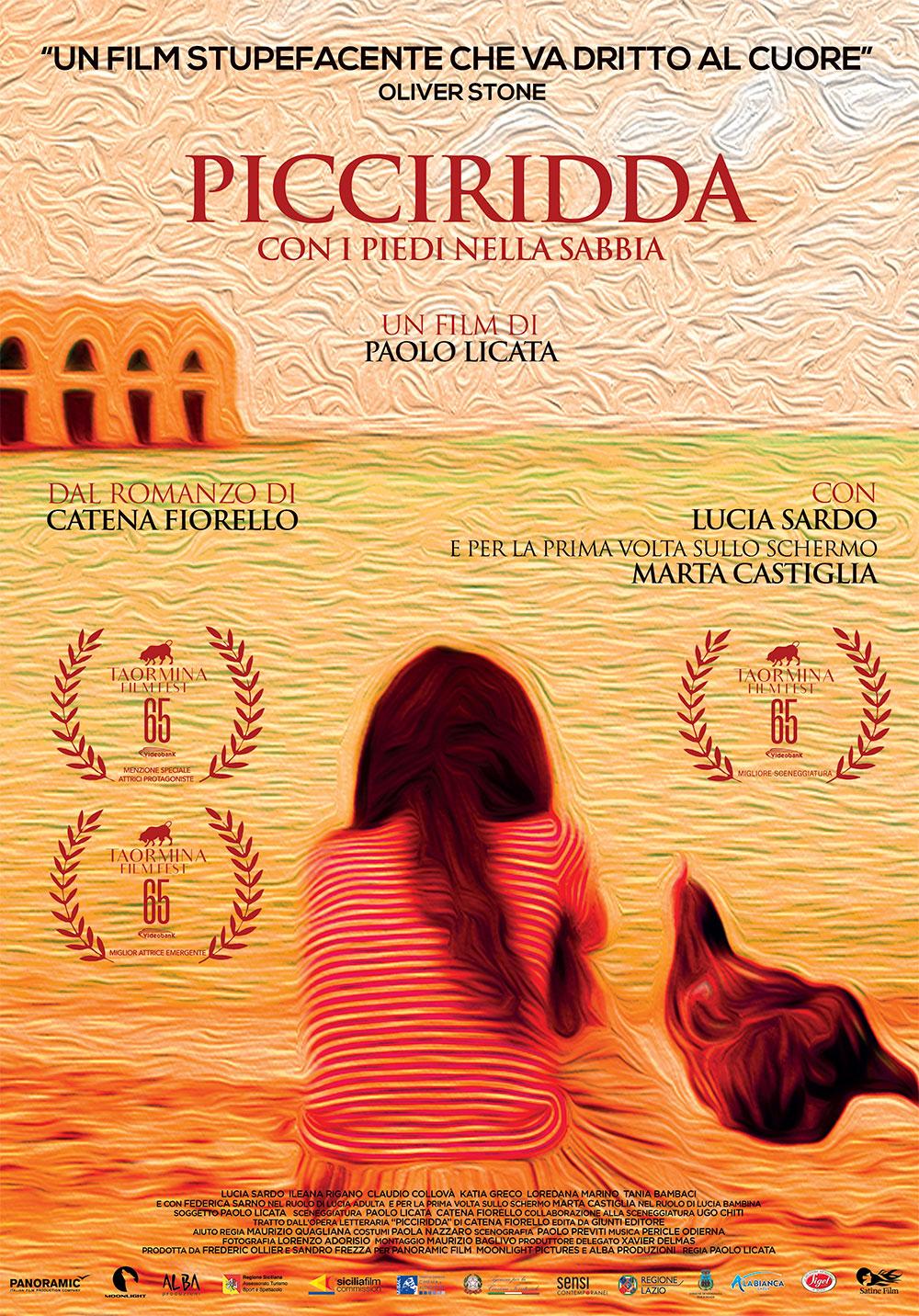 -  Dall'articolo: Picciridda - Con i piedi nella sabbia, il poster italiano del film.