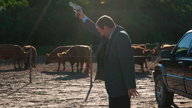 In foto una scena del film Criminali come noi. -  Dall'articolo: Criminali come noi, la rivincita dei tonti, degli incauti, degli onesti.